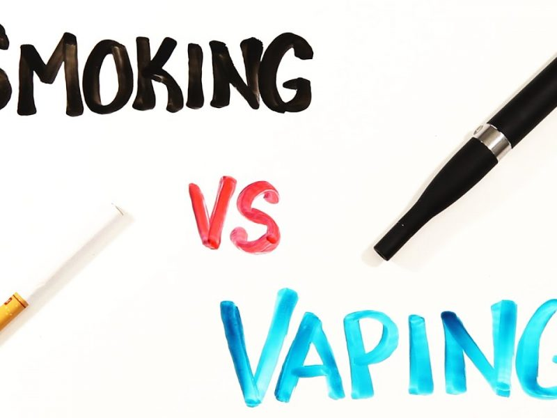 Smoking v/s Vaping